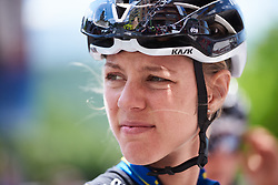 Emilia Fahlin (SWE) at Emakumeen Bira 2018 - Stage 4, a 120 km road race starting and finishing in Durango, Spain on May 22, 2018. Photo by Sean Robinson/Velofocus.com