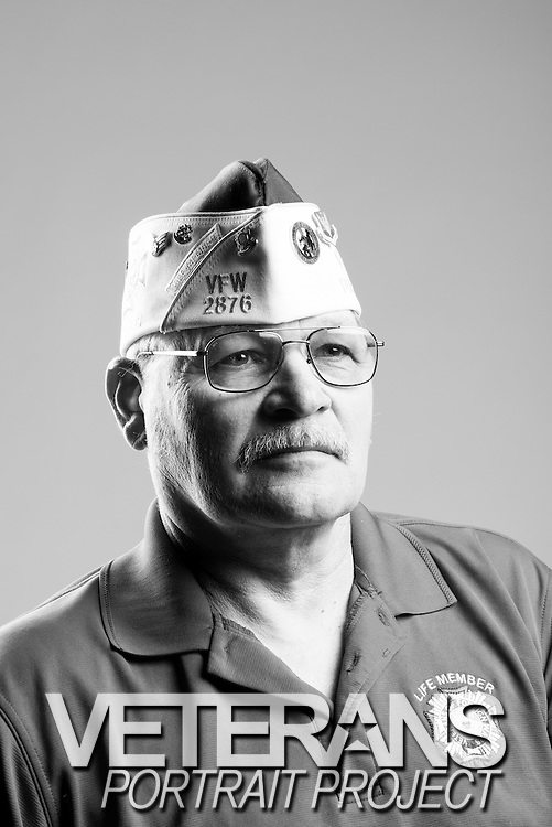 Arlyn D. Chapman<br /> Air Force<br /> E-5<br /> Munitions Load Crew<br /> 1972 - 1976<br /> Korea Defense<br /> <br /> Veterans Portrait Project<br /> St. Louis, MO