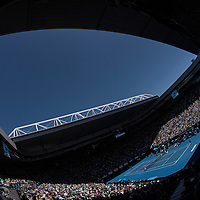 A general view of Rod Laver Arena on day ten of the 2017 Australian Open at Melbourne Park on January 25, 2017 in Melbourne, Australia.<br /> (Ben Solomon/Tennis Australia)