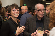 LISA BERNARD; DAVID HURN; BRONWEN COLQUHOUN, Opening of the Martin Parr Foundation party,  Martin Parr Foundation, 316 Paintworks, Bristol, BS4 3 EH  20 October 2017