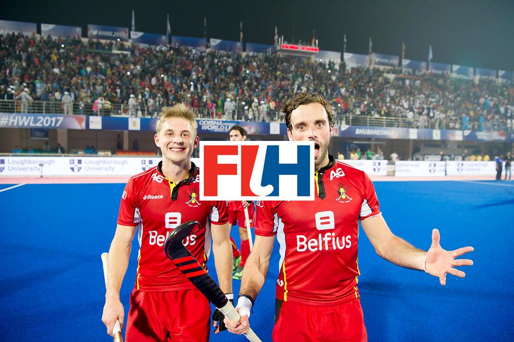 Odisha Men's Hockey World League Final Bhubaneswar 2017<br /> Match id:07<br /> Belgium v Spain<br /> Foto: Happy Belgium<br /> WORLDSPORTPICS COPYRIGHT FRANK UIJLENBROEK