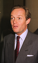 The MARQUESS OF DOURO at a party in London on 24th September 1998.MKG 55