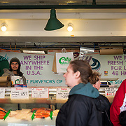 Fishmonger at Pike Place Market, Seattle
