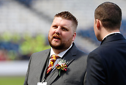 Motherwell Chief Executive Alan Burrows before the William Hill Scottish Cup Final at Hampden Park, Glasgow.