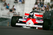 Historic Grand Prix at Circuit Gilles Villeneuve. John Watson's 1984 Mclaren