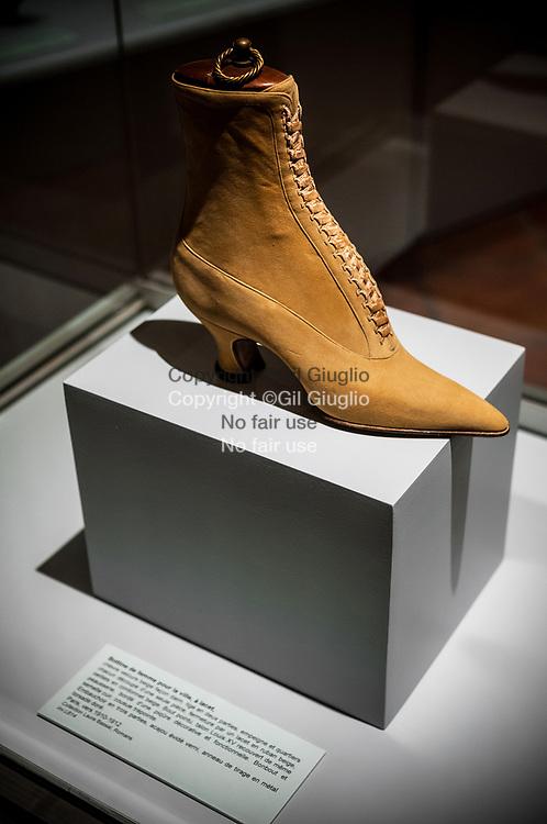 France, Auvergne-Rhône-Alpes, Drôme (26), Romans-sur-Isère, Musée International de la Chaussure // France,  Auvergne Rhone Alpes region, department of Drome, Roman sur Isere, International Museum of Shoes
