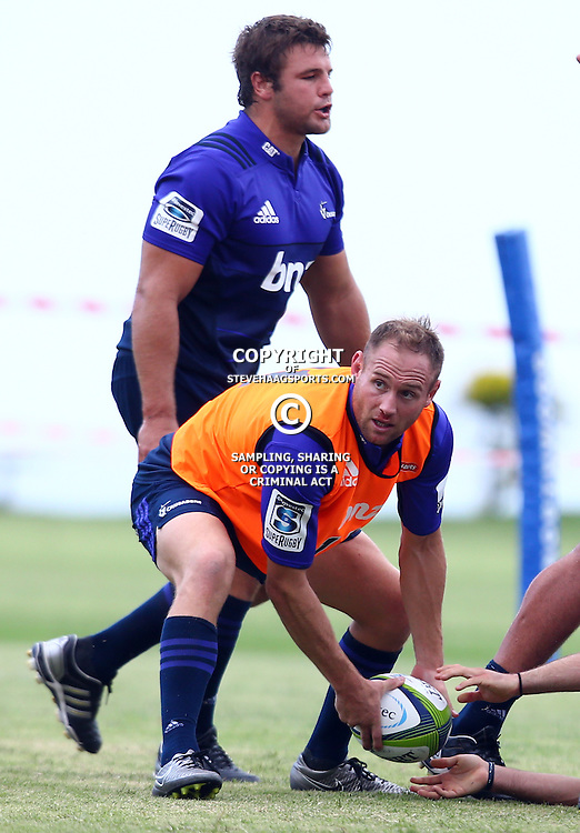 DURBAN, SOUTH AFRICA, 24,MARCH, 2016 - Andy Ellis of the BNZ Crusaders during The Crusaders training session  at Northwood School Durban North in Durban and the Crusaders Media conference, South Africa. (Photo by Steve Haag)<br /> <br /> images for social media must have consent from Steve Haag