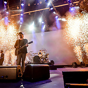 Fall Out Boy performs at the Don Haskins Center as the Fall Out Boy Mania Tour made its stop in El Paso Texas Tuesday night September 25, 2018, Andres Acosta| El Paso Herald-Post