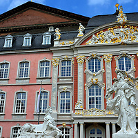 Electoral Palace South Wing in Trier, Germany <br />
