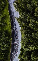 11.07.2019, Kitzbühel, AUT, Ö-Tour, Österreich Radrundfahrt, 5. Etappe, von Bruck an der Glocknerstraße nach Kitzbühel (161,9 km), im Bild Peloton auf der Gerlos Passstrasse // Peloton auf der Gerlos Passstrasse during 5th stage from Bruck an der Glocknerstraße to Kitzbühel (161,9 km) of the 2019 Tour of Austria. Kitzbühel, Austria on 2019/07/11. EXPA Pictures © 2019, PhotoCredit: EXPA/ JFK