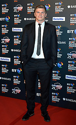 Pictured is Owen Farrell.<br /> <br /> BT Sport Industry Awards 2014 at Battersea Evolution, London, UK.<br /> <br /> Thursday, 8th May 2014. Picture by Ben Stevens / i-Images