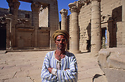 Nubian temples saved by the water by an extraordinary international vampaign of UNESCO, as part of the world's cultural heritage. Over 20 monuments were saved. Kalabsha Temple Complex, originaaly 40 km south, dedicatedto the god Mandulis and goddess Isis. Is the largest Nubian temple, built by Roman emperor Augustus over an older temple built by Amenophis II. Once the Nubia, a region rich in gold, was a necessary link between Equatorial Africa and the Mediterranean civilisations. The pharaohs build many temples in Nubia, the most grandiose expression is Abu Simbel built by Ramesses II. Today only few small cruise ships reach the Nubian monuments, far from the mass tourism of Nile valley.