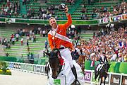 Jur Vrieling - VDL Bubalu<br /> Alltech FEI World Equestrian Games™ 2014 - Normandy, France.<br /> © DigiShots