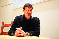 Thierry Froger - 07.01.2015 - Galette des rois / Presentation nouvel entraineur - Creteil<br /> Photo : Caroline Bloomberg / Icon Sport