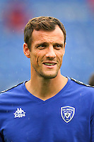 Sebastien Squillaci of Bastia during the French Ligue 1 match between SM Caen an Bastia at Stade Michel D'Ornano on August 27, 2016 in Caen, France. (Photo by Vincent Michel/Icon Sport)