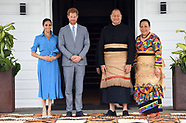 Meghan Markle & Harry Meet Tongan King & Queen