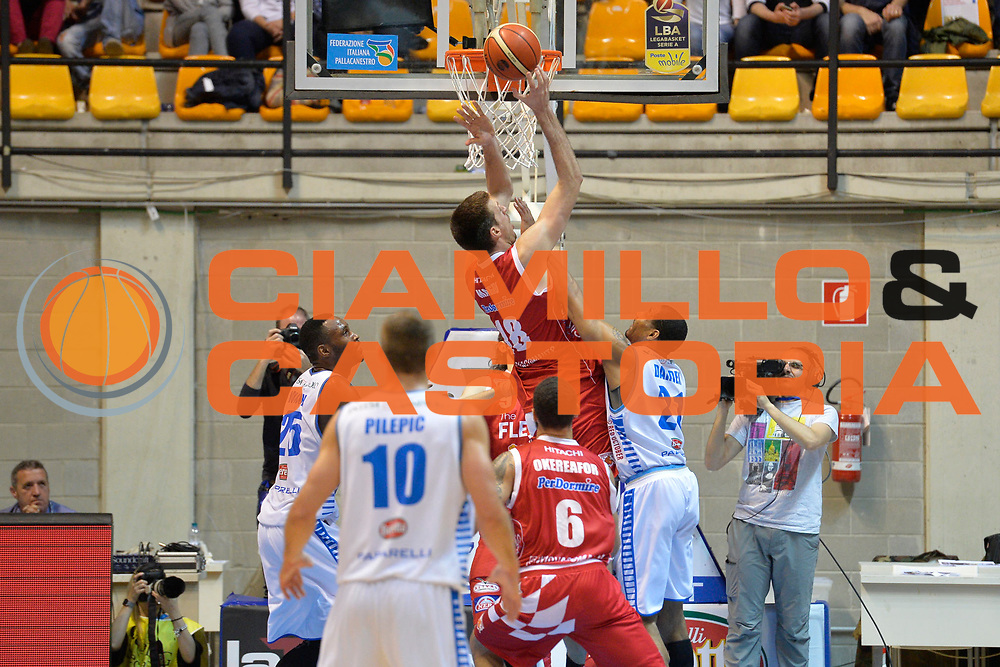 Magro Daniele<br /> Red October Cantu' vs The Flexx Pistoia<br /> Lega A  2016/2017<br /> Desio 15/04/2017<br /> Foto Ciamillo-Castoria<br /> Provvisorio