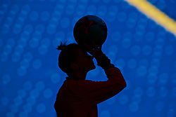 CARDIFF, WALES - Thursday, November 23, 2017: Wales' Jessica Fishlock during a training session ahead of the FIFA Women's World Cup 2019 Qualifying Round Group 1 match between Wales and Kazakhstan at the Cardiff City Stadium. (Pic by David Rawcliffe/Propaganda)