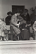 Prince Charles and the Princess of Wales, Braemar Gathering, Scotland, 1987,