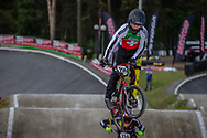 #256 (BRUNNER Gil) SUI during round 4 of the 2017 UCI BMX  Supercross World Cup in Zolder, Belgium.