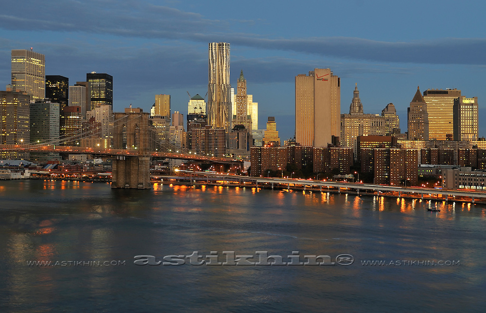 New day in Manhattan