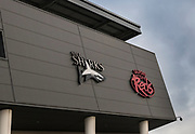 Home of Sale Sharks at the Aviva Premiership match between Sale Sharks and Gloucester Rugby at the AJ Bell Stadium, Eccles, United Kingdom on 29 September 2017. Photo by George Franks.