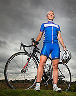 21:09:2010..Cyclist Jane Barr - comes from athletics background but took up cycling after doing some mountain biking with her husband last year and now she's off to Delhi for the Commonwealth Games...Pic:Andy Barr.07974 923919  (mobile).andy_snap@mac.com.All pictures copyright Andrew Barr Photography. .Please contact before any syndication. .