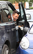 05.OCTOBER.2013. LONDON<br /> <br /> BOBBY COLE NORRIS FROM TOWIE SEEN PARKING HIS CAR TO CLOSE TO ANOTHER CAR AT CAR PARK IN ESSEX. BOBBY HAD TO CLIMB INTO HIS RANGE ROVER THROUGH THE PASSENGER SIDE AS HE COULDNT GET IN THROUGH THE DRIVERS SIDE. BOBBY WENT SHOPPING FOR A PUMPKIN AT THE SUPERMARKET IN BRENTWOOD ESSEX<br /> <br /> BYLINE: EDBIMAGEARCHIVE.CO.UK<br /> <br /> *THIS IMAGE IS STRICTLY FOR UK NEWSPAPERS AND MAGAZINES ONLY*<br /> *FOR WORLD WIDE SALES AND WEB USE PLEASE CONTACT EDBIMAGEARCHIVE - 0208 954 5968*