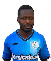 Daouda Konate during photocall of Tours FC for new season of Ligue 2 on October 9th 2016<br /> Photo : Fct / Icon Sport