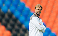 Head coach Jurgen Klopp pictured during Liverpool training ahead of the Europa League Final at St. Jakob-Park, Basel<br /> Picture by EXPA Pictures/Focus Images Ltd 07814482222<br /> 17/05/2016<br /> ***UK &amp; IRELAND ONLY***<br /> EXPA-FEI-160517-0016.jpg