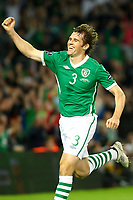 Football - UEFA Championship Qualifier - Republic of Ireland v Andorra<br /> Kevin Kilbane (Rep of Ireland) celebrates his goal in the UEFA Championship Group B Qualifier between the Republic of Ireland and Andorra at the Aviva Stadium in Dublin.