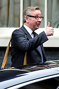© Licensed to London News Pictures. 21/05/2013. Westminster, UK. Michael Gove, Conservative MP, Secretary of State for Education. Ministers arrive for a Cabinet meeting at Downing Street today 21 May 2013. Photo credit : Stephen Simpson/LNP