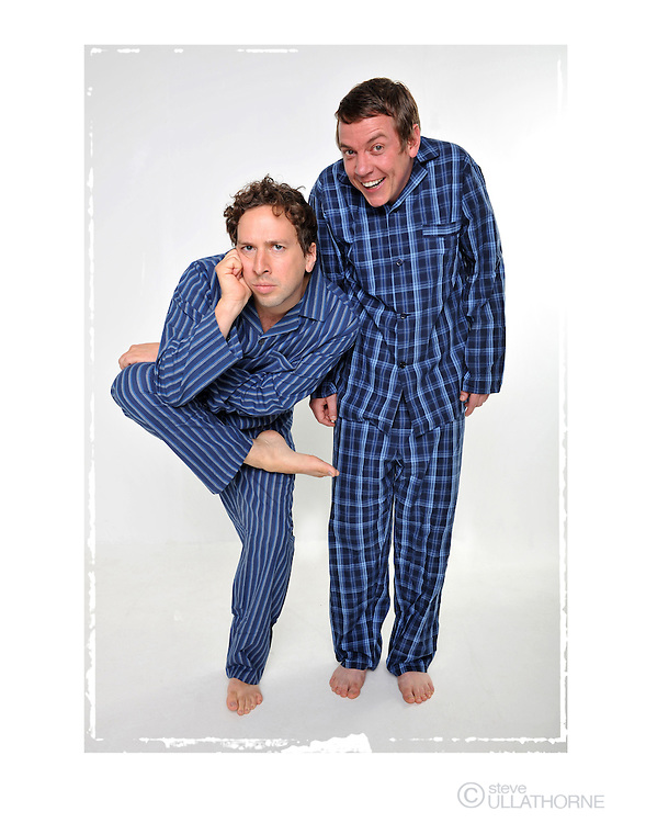 The Pajama Men. Poster Shoot.