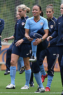 22 April 2008: Angela Hucles. The United States Women's National Team held a training session on Field 3 at WakeMed Soccer Park in Cary, NC.
