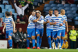 Matt Phillips of QPR celebrates scoring a goal to make it 0-1 - Photo mandatory by-line: Rogan Thomson/JMP - 07966 386802 - 07/04/2015 - SPORT - FOOTBALL - Birmingham, England - Villa Park - Aston Villa v Queens Park Rangers - Barclays Premier League.