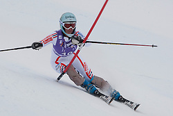19.12.2010, Val D Isere, FRA, FIS World Cup Ski Alpin, Ladies, Super Combined, im Bild Marie Marchand-Arvier (FRA) whilst competing in the Slalom section of the women's Super Combined race at the FIS Alpine skiing World Cup Val D'Isere France. EXPA Pictures © 2010, PhotoCredit: EXPA/ M. Gunn / SPORTIDA PHOTO AGENCY