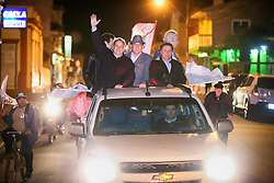 """O candidato a governador do Estado pela coligação """"O Rio Grande Merece Mais"""", Vieira da Cunha, mobilização em Arroio Grande. FOTO: Jefferson Bernardes/ Agência Preview"""