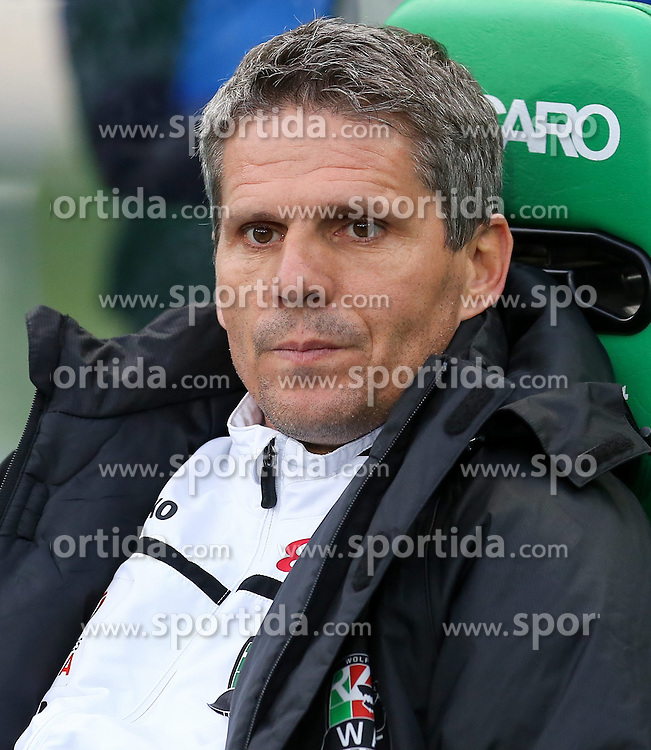 04.04.2015, Ernst Happel Stadion, Wien, AUT, 1. FBL, SK Rapid Wien vs RZ Pellets WAC, 27. Runde, im Bild Dietmar Kuehbauer (RZ Pellets WAC) // during Austrian Football Bundesliga Match, 27th Round, between SK Rapid Vienna and RZ Pellets WAC at the Ernst Happel Stadion, Wien, Austria on 2015/04/04. EXPA Pictures © 2015, PhotoCredit: EXPA/ Alexander Forst