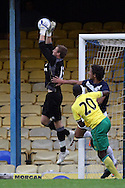 Picture by Paul Chesterton/Focus Images Ltd.  07904 640267.28/7/11 .Declan Rudd of Norwich City during a pre season friendly at Roots Hall Stadium, Southend...