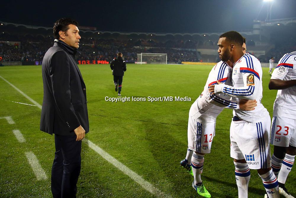 Hubert Fournier / Alexandre LACAZETTE - 21.12.2014 - Bordeaux / Lyon - 19eme journee de Ligue 1 -<br />Photo : Manuel Blondeau / Icon Sport