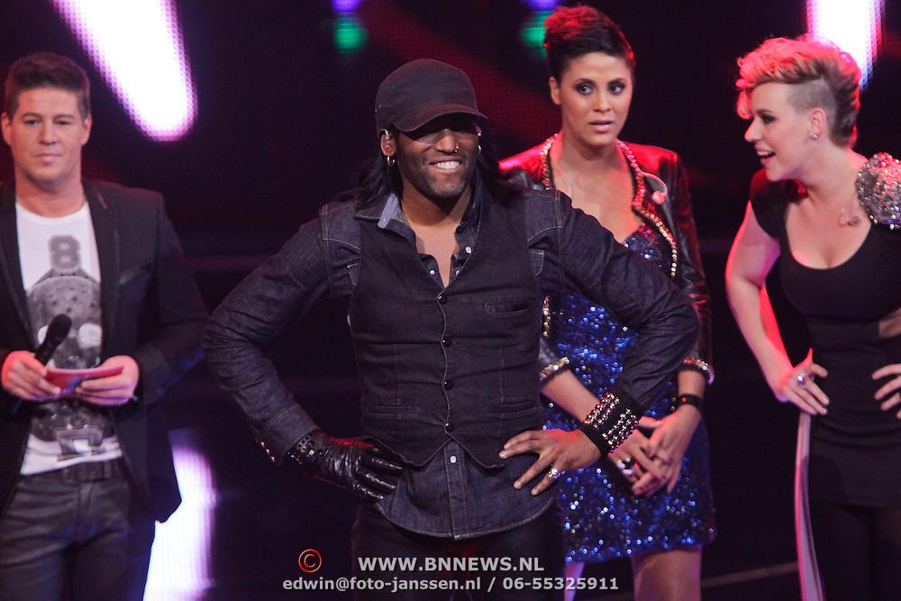 NLD/Hilversum/20111209- The Voice of Holland 2011, 2de live uitzending, Christopher Max