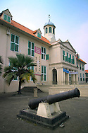 Java, Indonesia, October 2006. The Dutch colonia city hall of Batavia. The island of Java is rich with culture, colorful friendly people, dutch colonial history and beautiful landscapes. Photo by Frits Meyst/Adventure4ever.com