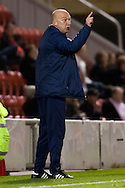 Picture by David Horn/Focus Images Ltd +44 7545 970036.16/10/2012.Neale Cooper,  Hartlepool United Manager during the npower League 1 match at the Matchroom Stadium, London.