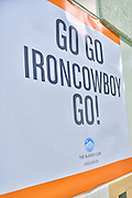 June 7, 2015: The Iron Cowboy James Lawrence attempts to complete 50 Full Ironman Distances in 50 Days in 50 States. His second stop on the journey found him in Alaska.