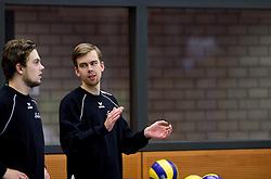 21-11-2015 NED: Advisie/SSS - ARBO Rotterdam, Barneveld<br /> SSS wint met 3-1 (25-13, 24-26, 25-13, 25-18) van Rotterdam / Gepko Hahn