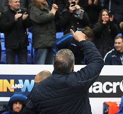 Crystal Palace manager Sam Allardyce acknowledges the Bolton Wanderers fans before the match - Mandatory by-line: Jack Phillips/JMP - 07/01/2017 - FOOTBALL - Macron Stadium - Bolton, England - Bolton Wanderers v Crystal Palace - FA Cup Third Round