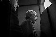 Massimo D'Alema durante il seminario dei deputati della Sinistra Italiana su 'La guerra globale e la pace come politica'. Roma 13 gennaio 2016. Christian Mantuano / OneShot