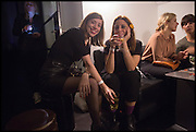 Lorena Muñoz-Alonso; BEATRIZX OLABRRIETA, Frieze party, ACE hotel Shoreditch. London. 18 October 2014