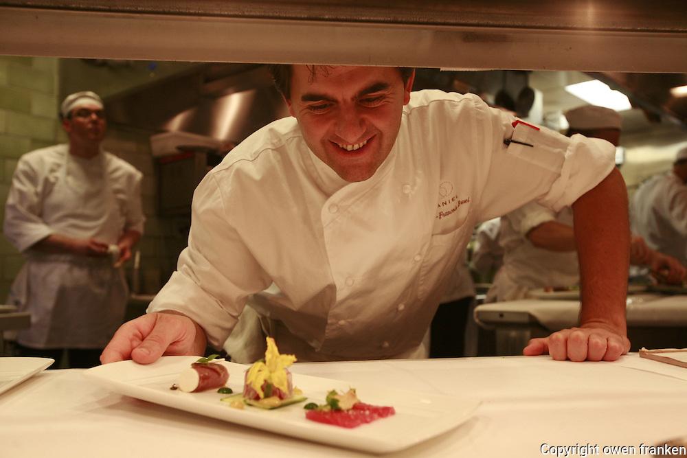Chef Jean-Francois Bruel ....