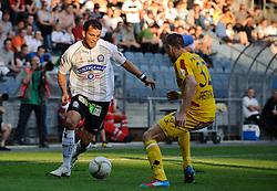 28.04.2012, UPC Arena, Graz, AUT, 1. FBL, Sturm vs KSV, im Bild Haris Bukva, (Sturm, #09), Mark Prettenthaler, (KSV, #32), EXPA Pictures © 2012, PhotoCredit: EXPA/ S. Zangrando